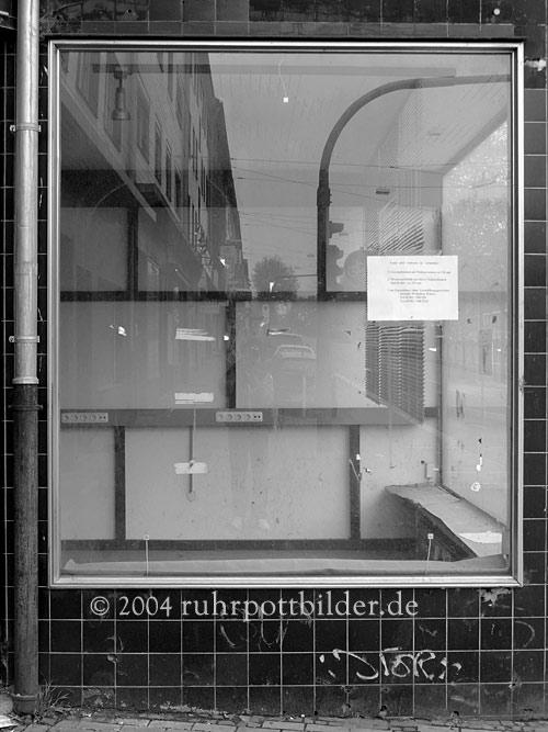 Leerer Laden auf der Alleestraße in Bochum