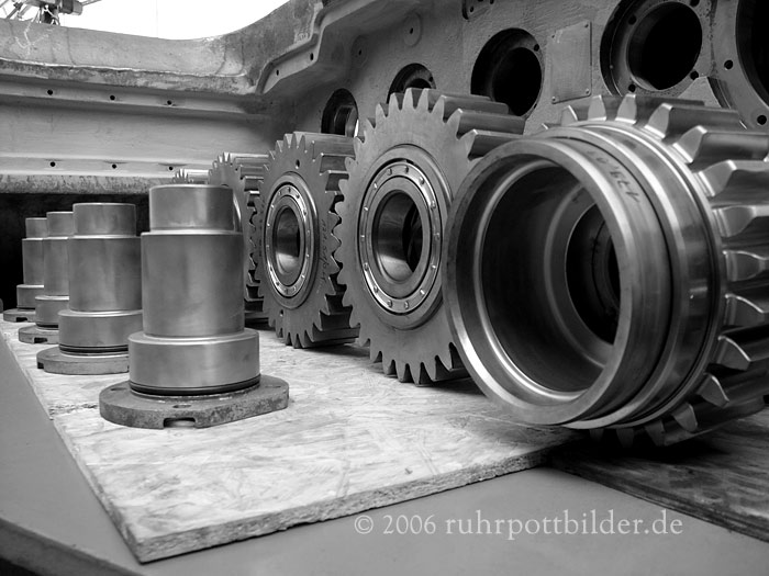 Sauber aufgereiht - Zentralwerkstatt Bottrop der DSK