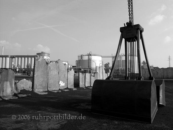 Riesenschaufel - Dortmund Hafen