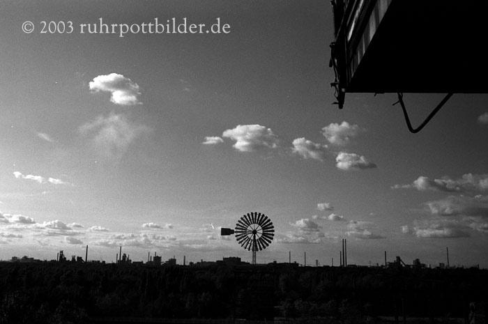 Himmel über Duisburg
