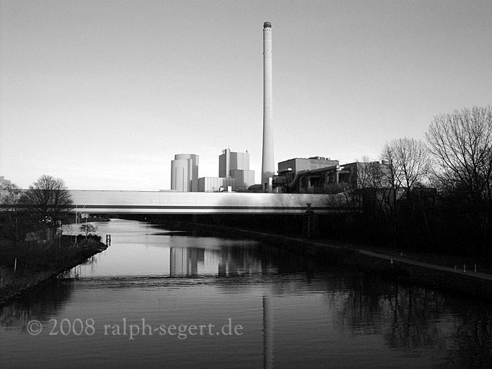 Kraftwerk Herne am Rhein-Herne-Kanal