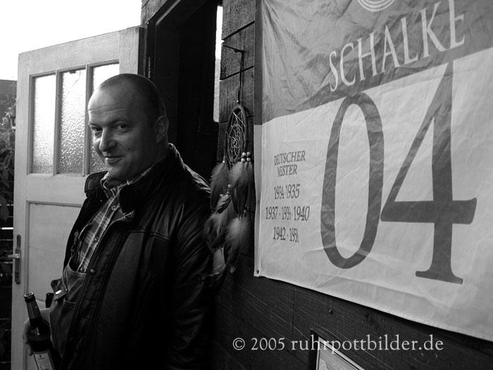 Andreas entspannt bei einem Bier - Gelsenkirchen-Buer