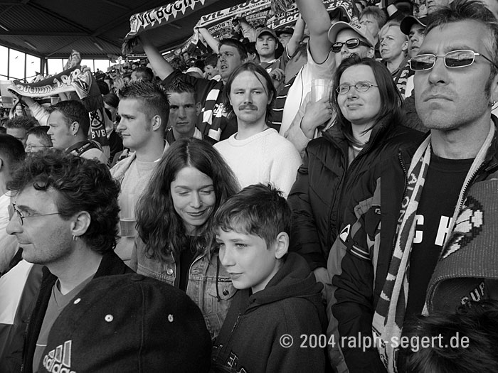 2004: VfL gegen Hannover 96